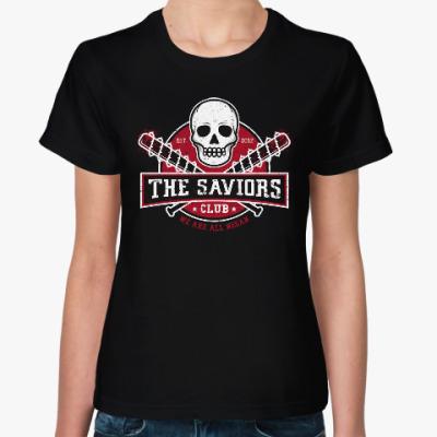 Женская футболка Walking Dead The Saviors TWD