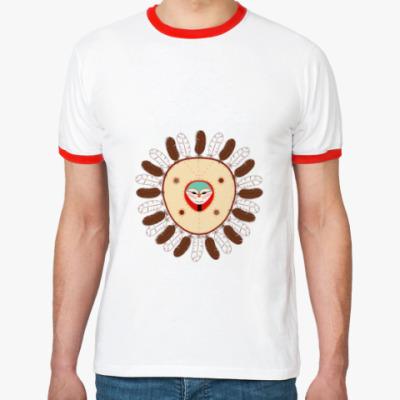 Футболка Ringer-T Индейская маска