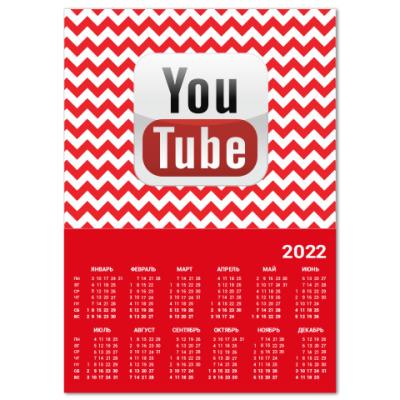 Календарь YouTube