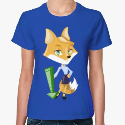 Женская футболка FOXY LADY