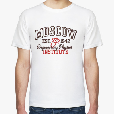 Футболка  футболка МИФИ
