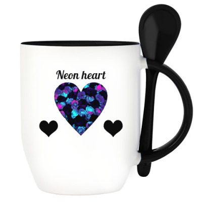 Неоновое сердце